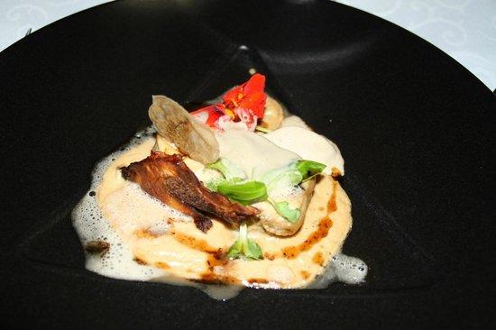 Restaurant Le Grand Bleu : assiette de cèpes