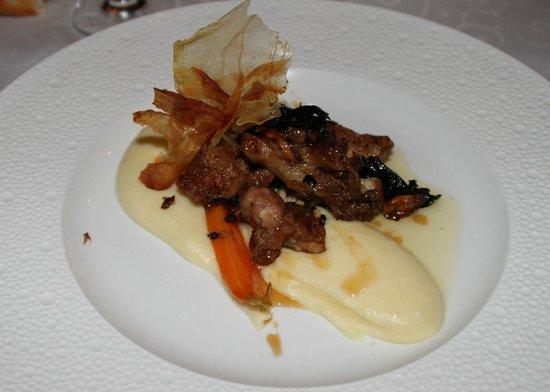 Restaurant Le Grand Bleu: riz de veau