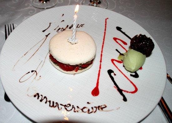 Restaurant Le Grand Bleu: macaron