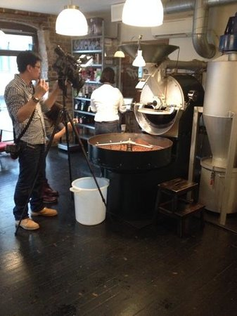 Tim Wendelboe: South African film crew was shooting on my first visit.