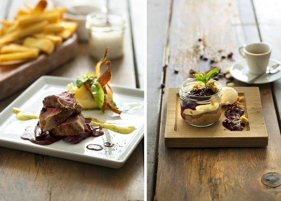 Forrettabarinn: The horse fillet & the chocolate mousse