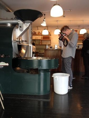 Tim Wendelboe: a photographer for the monocle (i think) on my 2nd visit