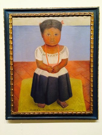 McNay Art Museum: Delfina Flores by Diego Rivera. This is the first modern painting Marion McNay purchased as she