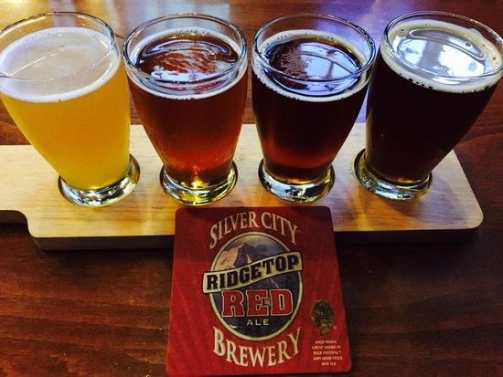 Silver City Brewery: Beer tasting!