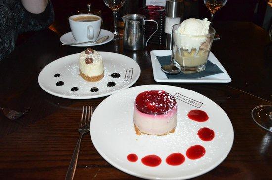 Hamptons Bar & Grill Steakhouse: Dessert