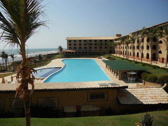 Coliseum Beach Resort: Vista do hotel, clicada de nossa sacada