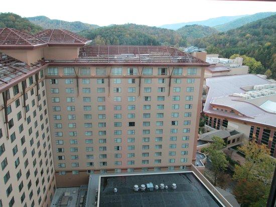 Harrah's Cherokee Hotel: October view