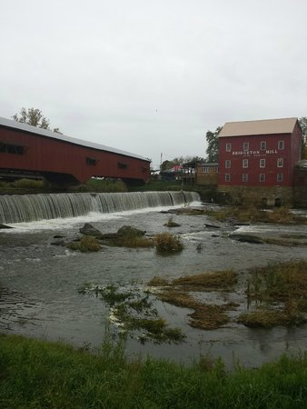 Bridgeton Mill and Covered Bridge, Rockville, IN