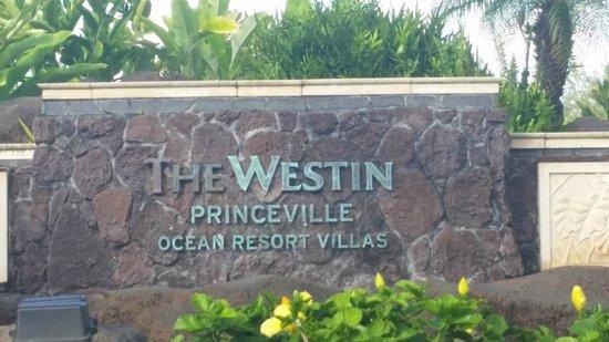 Westin Princeville Ocean Resort Villas: Hotel