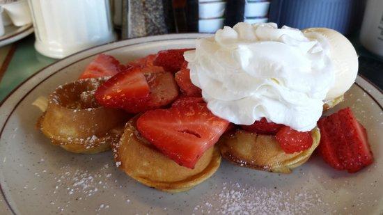 Pocahontas Pancake & Waffle  House: half waffle
