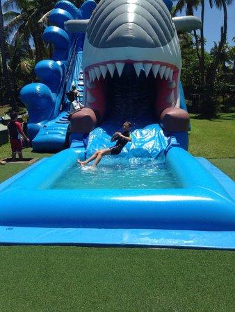 Big Bula Water Park: Ben mid air
