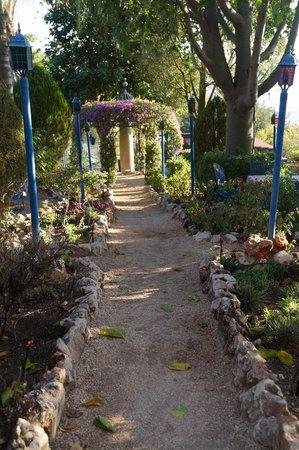 Villa Tehila: The Garden Path