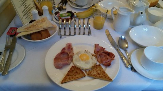 The Edinburgh Lodge : Colazione.