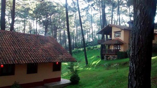 Villas Mazamitla: Vista desde cabaña 13