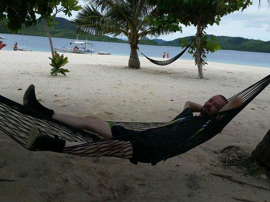 Malcapuya Island: Relaxation....