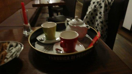 Ristorante Autoespresso: чай почему-то был со вкусом горохового супа