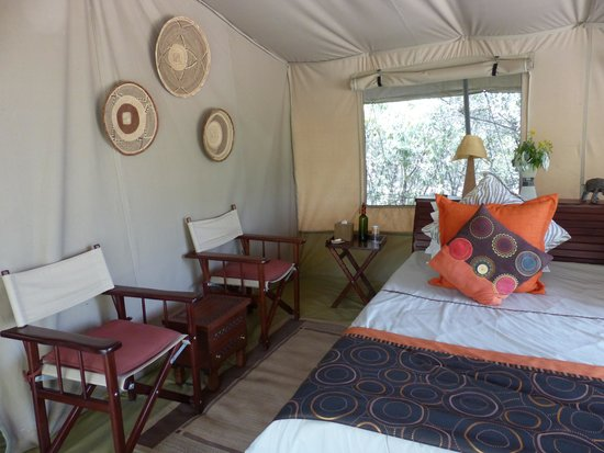 Leleshwa Camp: Bedroom