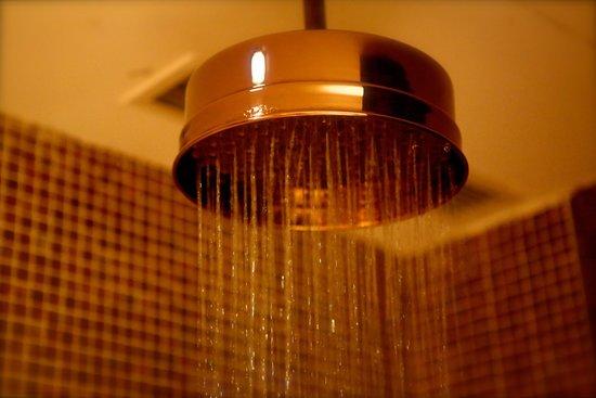 Pudi Boutique Hotel: Copper Rain Shower Head