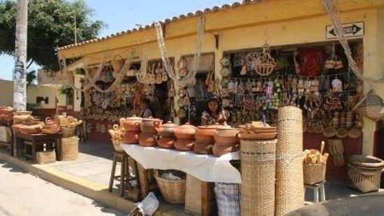 Mercado Artesanal de Monsefu: Mercado artesanal