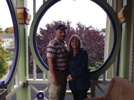 Boyden House Inn : Our porch!