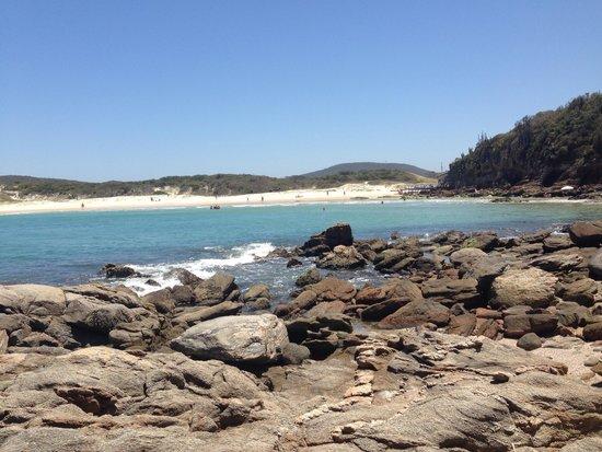 Praia das Conchas: Visão das pedras,  ótimo lugar para tirar fotos