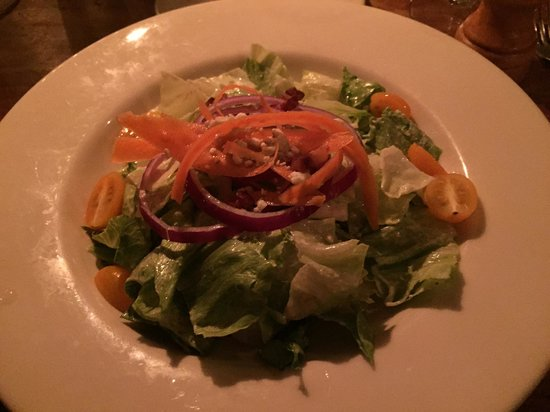 Sheffield, MA: iceberg salad appetizer