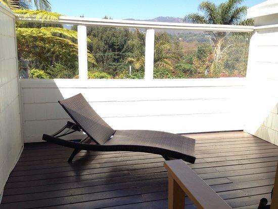 Malibu Country Inn: Balcony