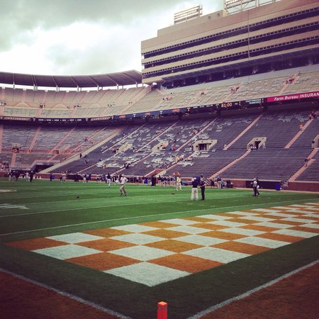 University of Tennessee : Before the action