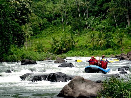 Bukittinggi, Indonesien: Rafting Trip at Ombilin River, West Sumatra