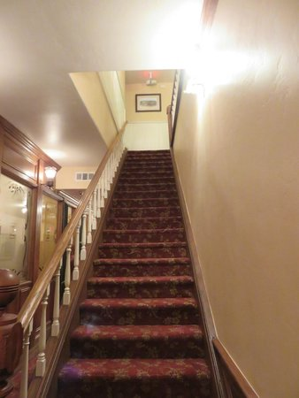 Jamestown Hotel: No ghosts upstairs on this visit.