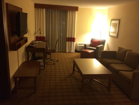 Four Points by Sheraton Houston Citycentre: Living room