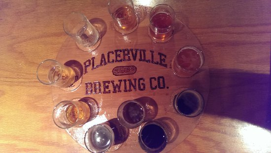 Placerville Brewing Company : Great flight to take!