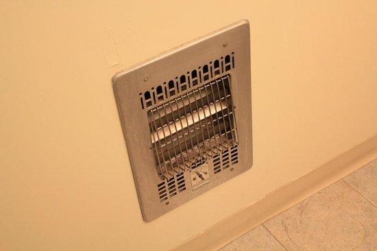Yosemite Gateway Motel: Bathroom heater not working