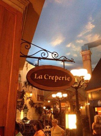 La Creperie at Paris : París Las Vegas