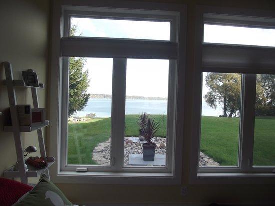 Avanti B&B: view from my room