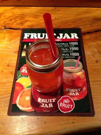 The Bar Miyazaki : Fruit Jar Cocktail