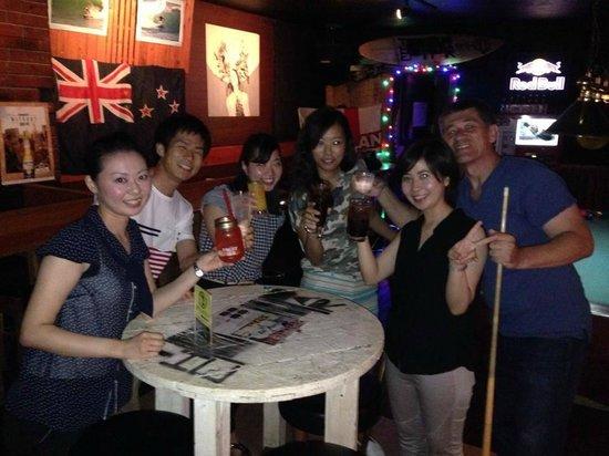 The Bar Miyazaki : The Captain and the Crew