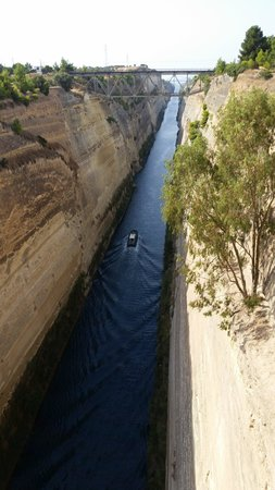 George's Taxi - Private Tours : Corinth Canal