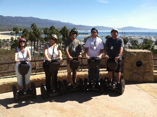 Segway of Santa Barbara: Family of Five Tripping Thru Santa Barb