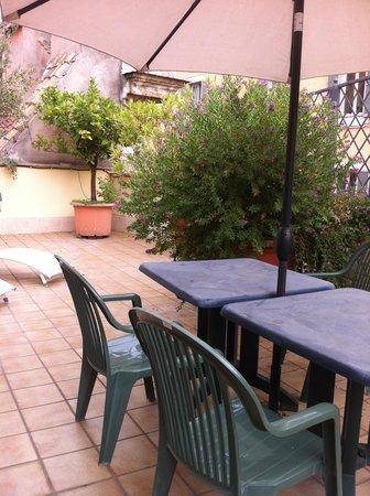 Hotel Portoghesi: Terrace
