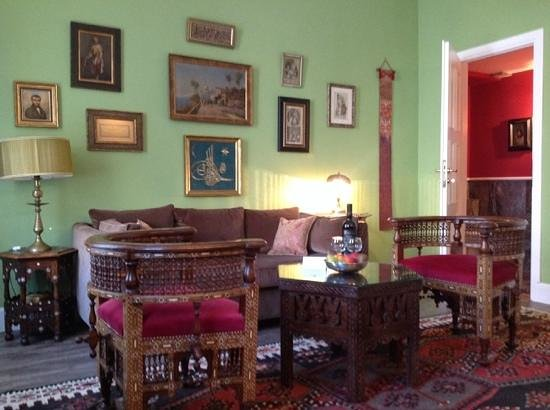 La Maison Ottomane: constantinople - main floor living room and powder room