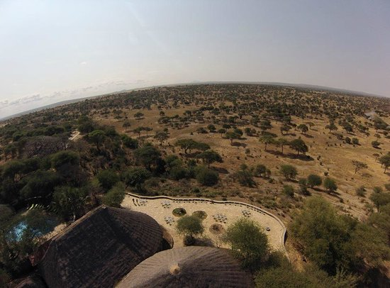 Tarangire Safari Lodge: View from above