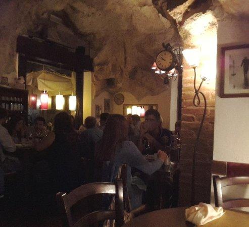 Dining Area at Osteria La Grotta