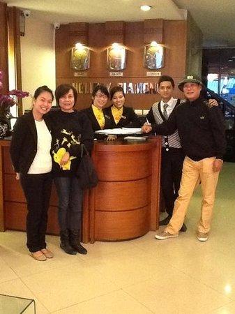 Hanoi Holiday Diamond Hotel: Add a caption