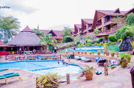 Lake Naivasha Panorama Park: Swimming pool area