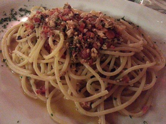 Osteria Il Bertoldo: Spaghetti Gaetano's style