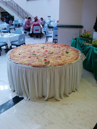 Kolimbia, اليونان: Пицца в итальянский вечер