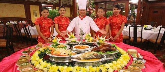 Marco Polo Restaurant in Montien Hotel Pattaya, Thailand