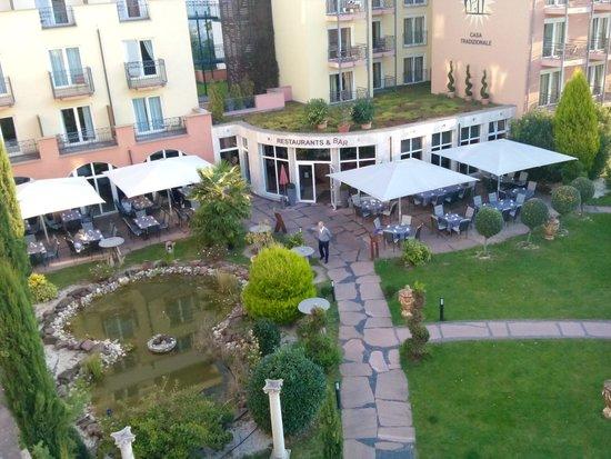 Hotel Villa Toskana: garten
