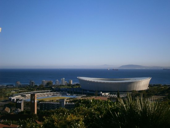 Bluegum Hill Guesthouse and Apartments: View of the World Cup stadium